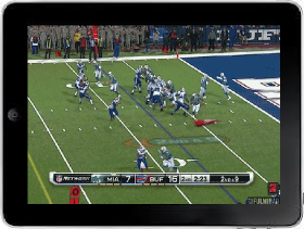 Watch NFL Games on ipad