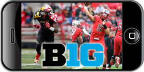 Watch Big Ten Football Games on iPhone