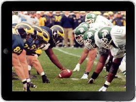 Watch Big Ten Football Games on ipad
