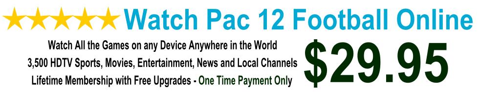 Watch Pac 12 Football Games Online
