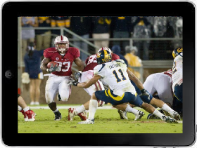 Watch Pac 12 Football Games on ipad