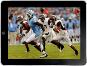 Watch ACC Football Games on ipad
