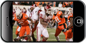 Watch Big 12 Football Games on iPhone